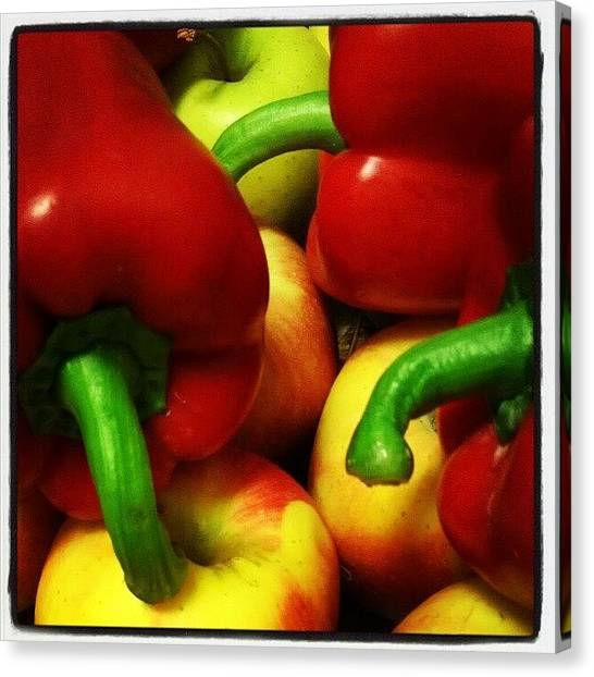 Pepper Canvas Print - Vegans' Heaven by Marino Todesco