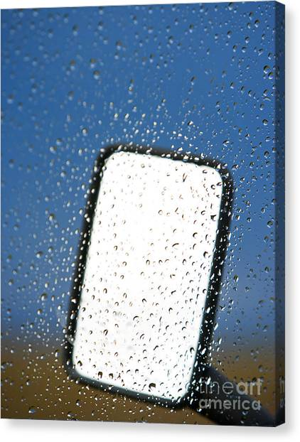 Vehicle Side Mirror Canvas Print by David Buffington