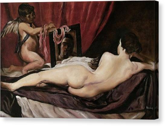 Velazquez's Venus Canvas Print