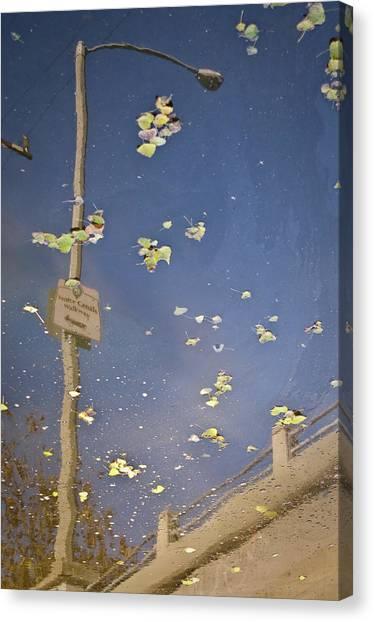 Venice Canals Walkway Canvas Print