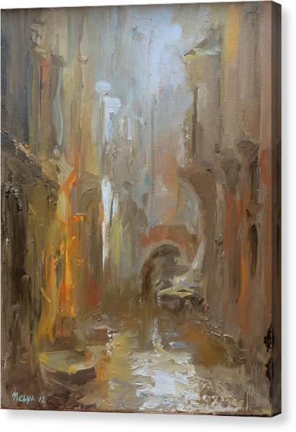 Venice Canvas Print by Nelya Shenklyarska