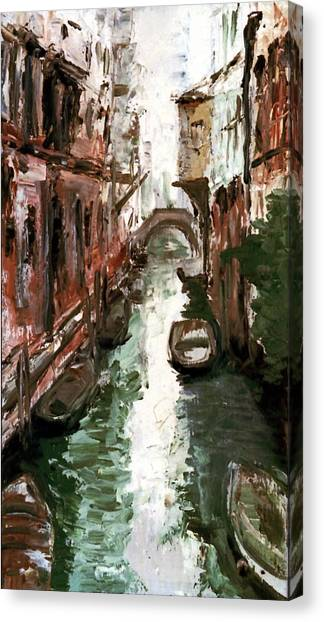 Venice Canvas Print by Sophie Brunet