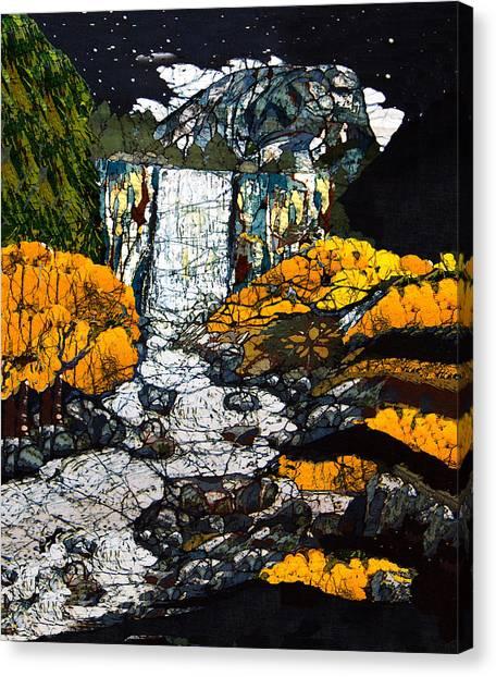 Vernal Falls Canvas Print by Alexandra  Sanders