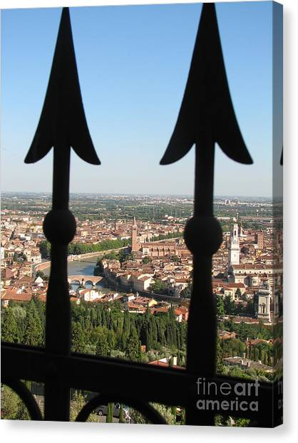Verona- View Canvas Print