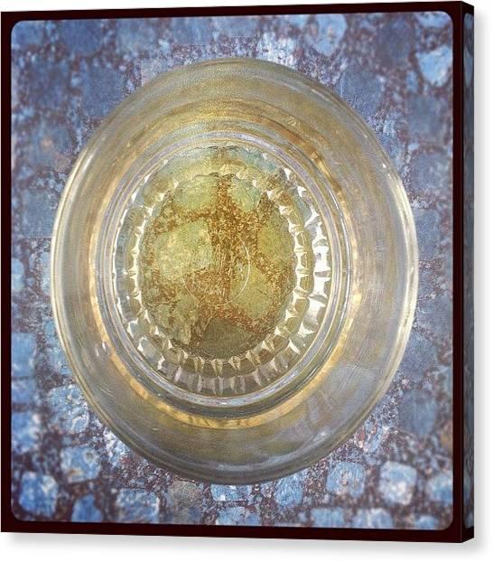White Wine Canvas Print - Version Blanc :) Je Fais Les Couleurs by Chloé Tbf