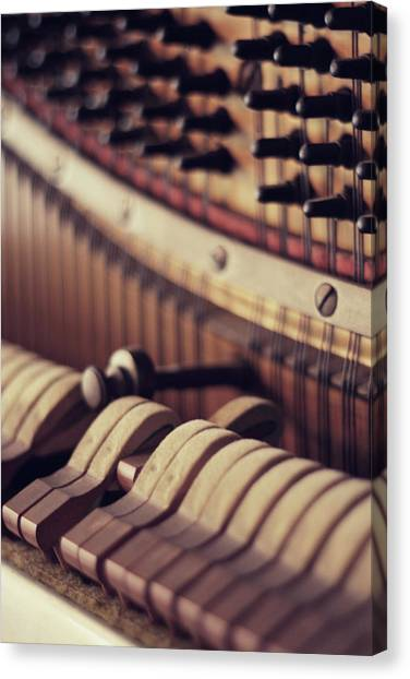 Vertical Piano Canvas Print by Isabelle Lafrance Photography