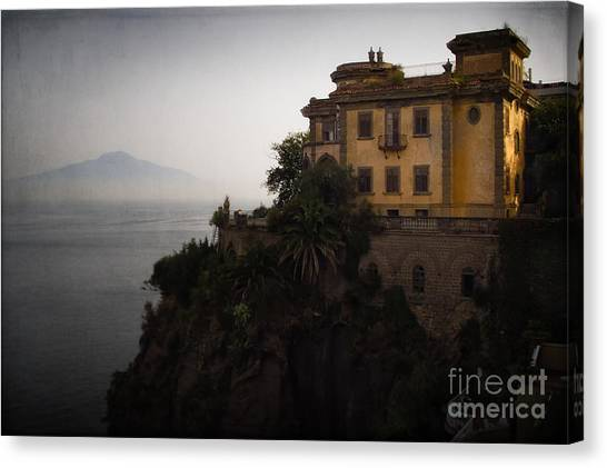 Vesuvius From Sorrento Canvas Print