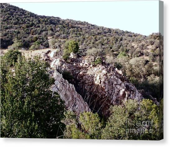 Brown Ranch Trail Canvas Print - View From Miller Peak by Stanley Morganstein