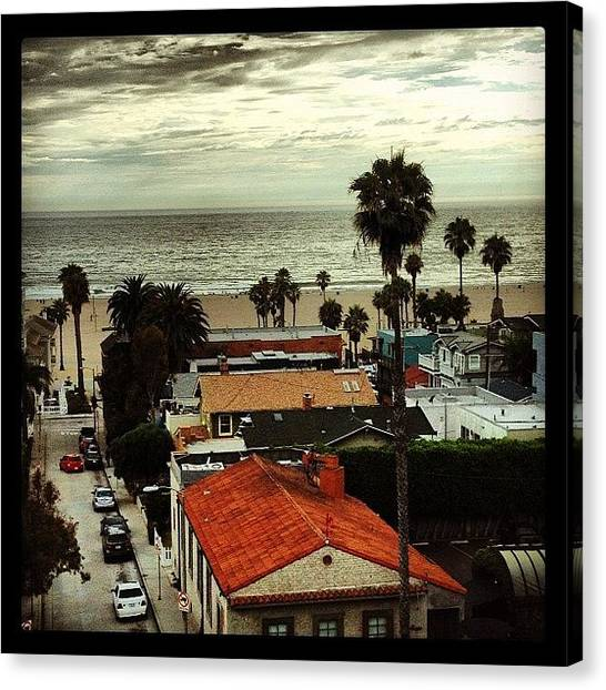 Wine Canvas Print - View From Our Room by Eric Kent Wine Cellars