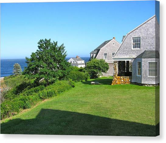 View From The Veranda Canvas Print