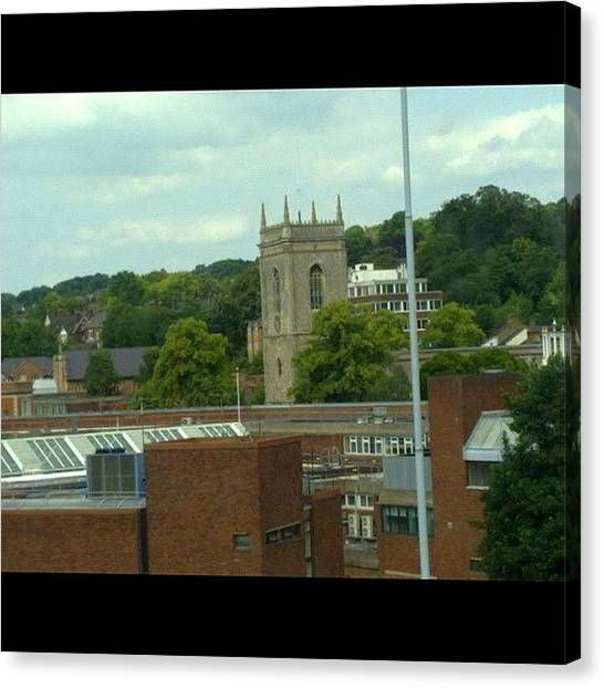 Mba Canvas Print - View From Uni Classroom by Muhammad Tahir