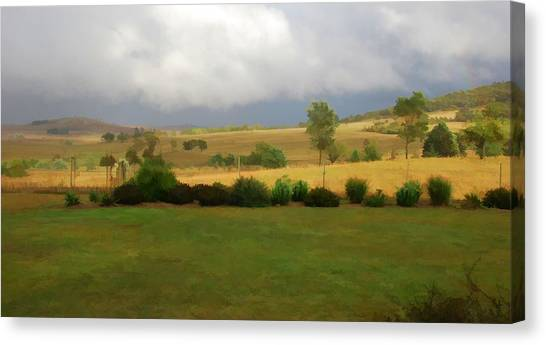 View From Verandah 1 Canvas Print