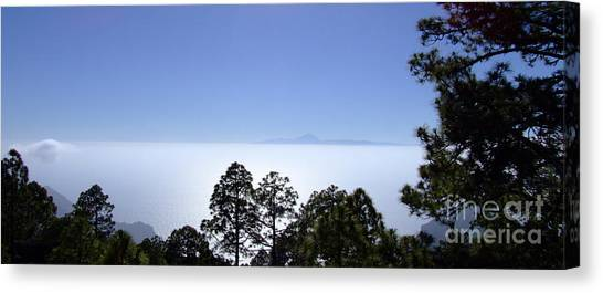 View Of Tenerife Canvas Print