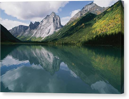 Northwest Territories Canvas Print - View Of The Cirque Of The Unclimbables by Gordon Wiltsie