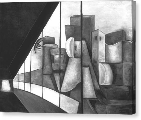 View Of The Weisman Ix Canvas Print