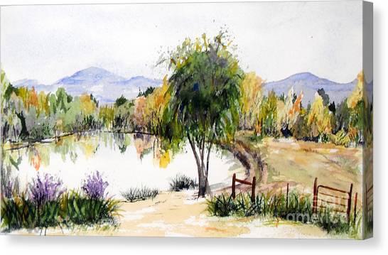 View Outside Reno Canvas Print
