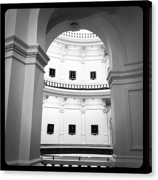 Austin Canvas Print - View Towards The Rotunda by Natasha Marco