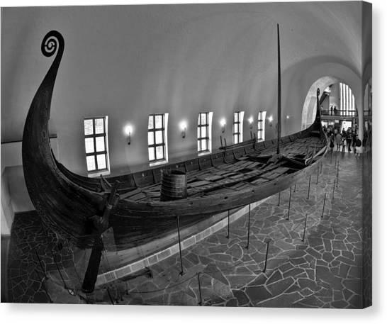 Vikingship Canvas Print