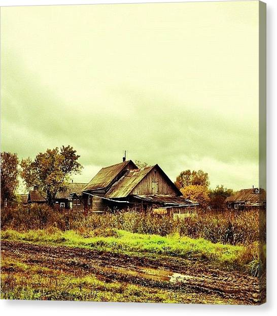 Russia Canvas Print - Village by Denis Platonov
