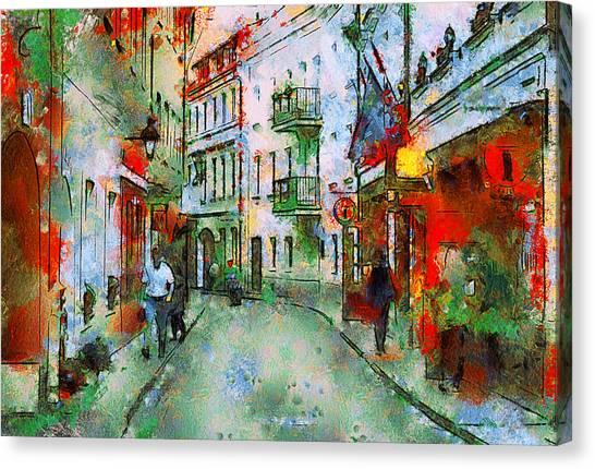 Vilnius Walk Canvas Print by Yury Malkov