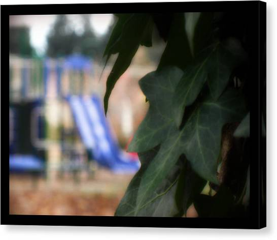 Vines And Playground Canvas Print by Lee Yang
