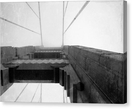 Vintage Bridge Canvas Print