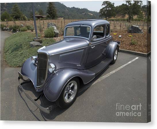 Vintage Car Alexander Valley Canvas Print