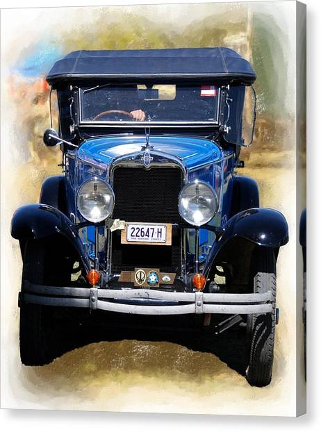 Vintage Chevrolet Canvas Print