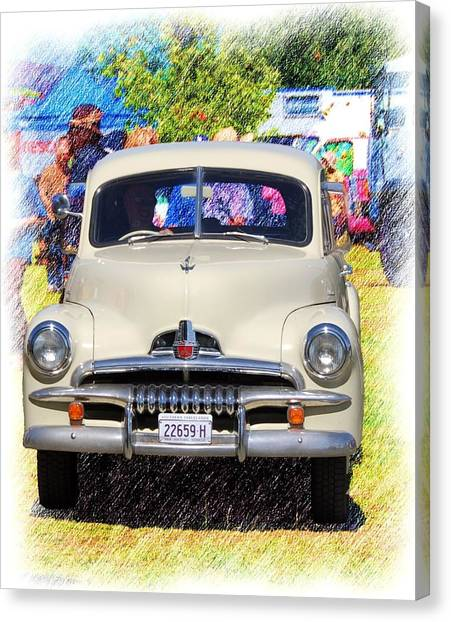 Vintage Fj Holden Canvas Print
