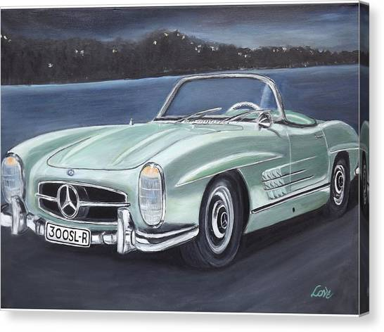 Vintage Mercedes Canvas Print