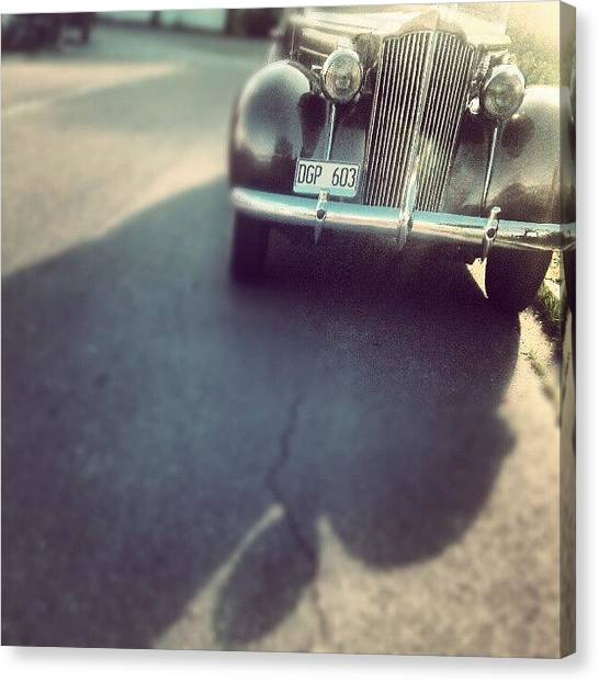 Ford Canvas Print - Vintage Ride.. #instagram #ig #igdaily by Tess Walther