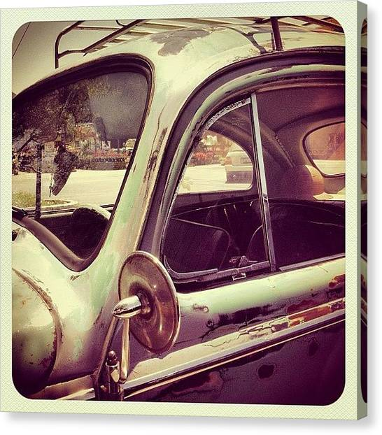 German Canvas Print - Vintage Vw by Gwyn Newcombe