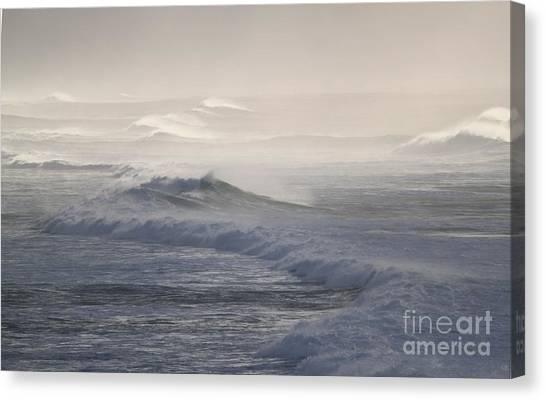 Violent Surf Canvas Print