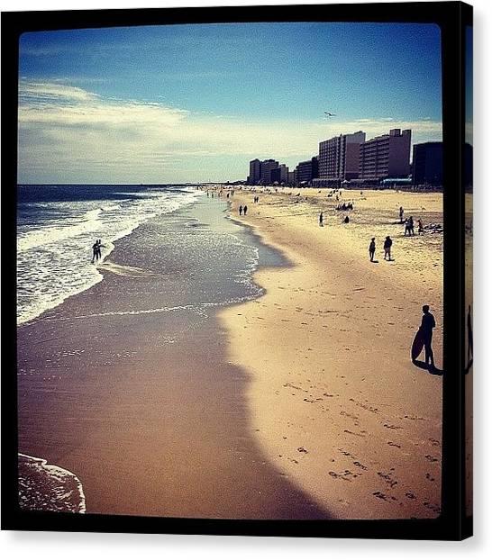 Virginia Canvas Print - #virginia #beach In #spring !! by Manan Shah