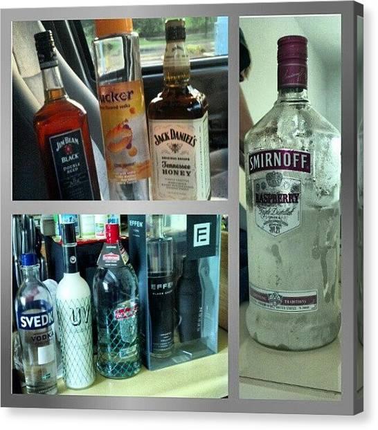 Russian Canvas Print - #vodka #whiskey #liquor #drinks by Matt Guzik
