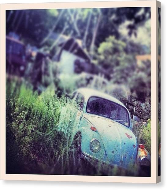 Volkswagen Canvas Print - #volkswagen #volkswagenlove by A Loving
