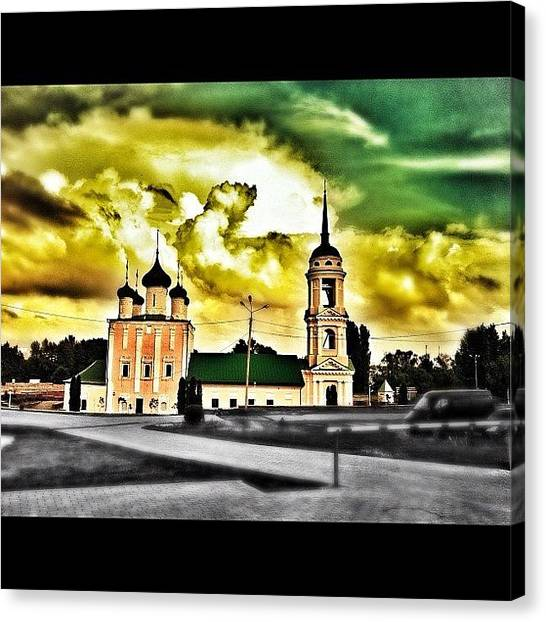 Russia Canvas Print - #vrngram #sky #clouds #beautiful by Vitaly Russia