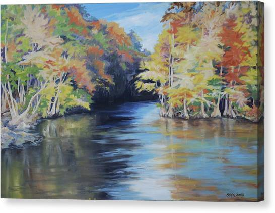 Waccamaw Autumn Canvas Print