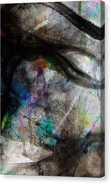 Wade In The Water Six Canvas Print by Scott Smith