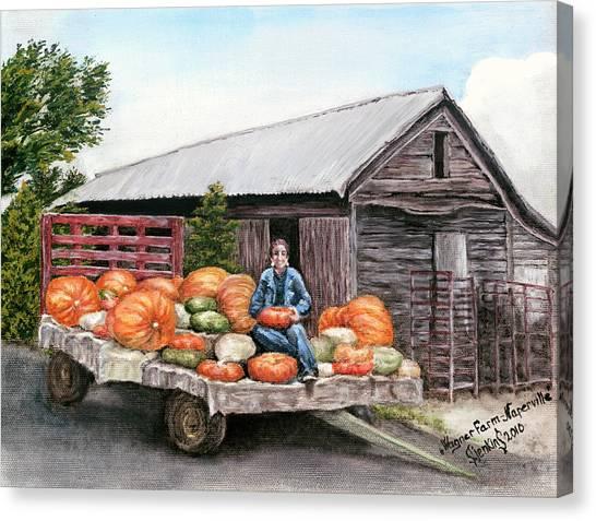 Wagner Farm Naperville Illinois Canvas Print