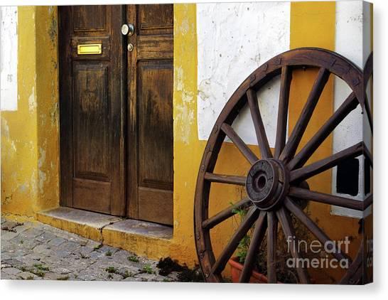 Caravan Canvas Print - Wagon Wheel by Carlos Caetano