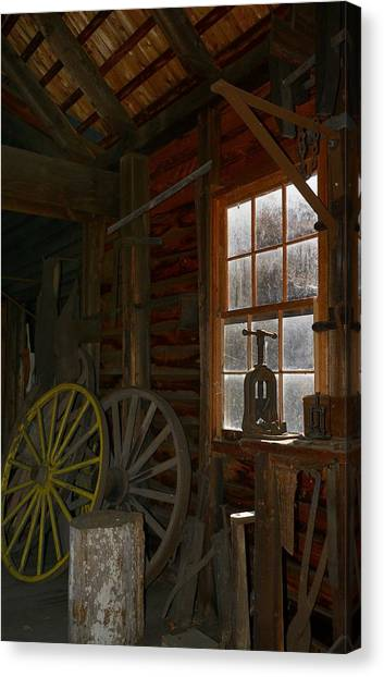 Wagon Wheel Canvas Print