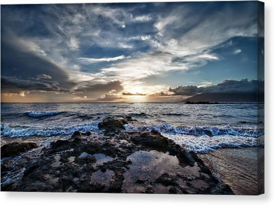 Wailea Sunset Canvas Print