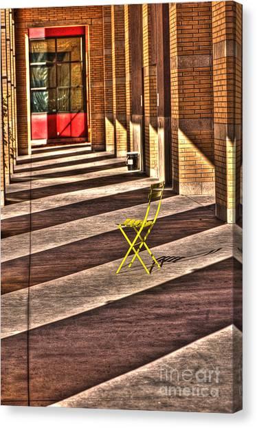 Waiting In Between Canvas Print by Anca Jugarean