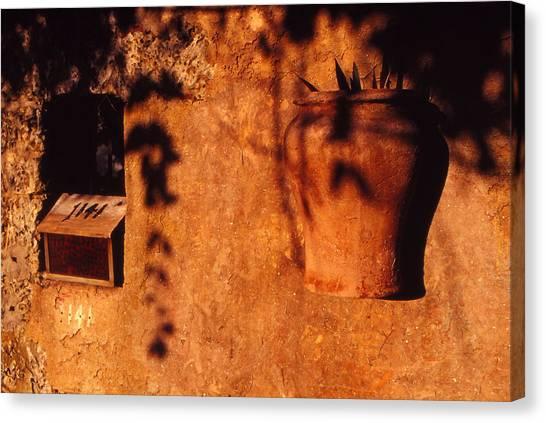 Wall Urn Canvas Print by Bob Whitt