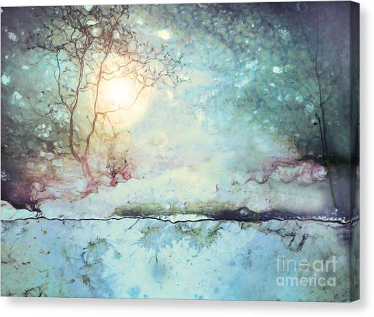 Wandering In The Light Canvas Print