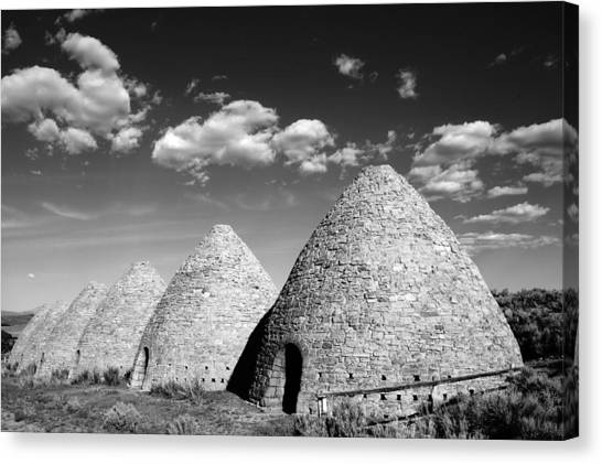Oven Canvas Print - Ward Charcoal Ovens by Scott McGuire