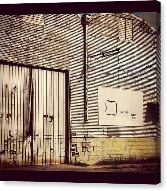 Oklahoma Canvas Print - Warehouse by James Dornan