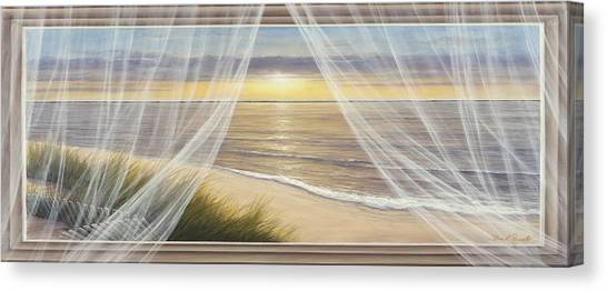 Warm Breeze Panoramic View Canvas Print