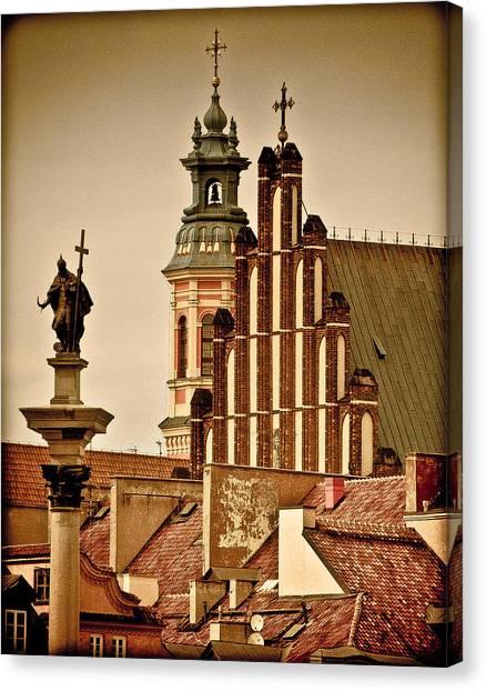 Warsaw Canvas Print